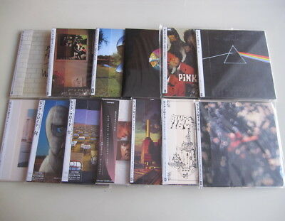 Pink Floyd 13CD SET MINI LP Relics Dark Side Wish You Were Here Animals Wall..