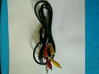 Heavy Duty Thick 3-RCA Audio/Video Shielded RG59 Cable 6ft