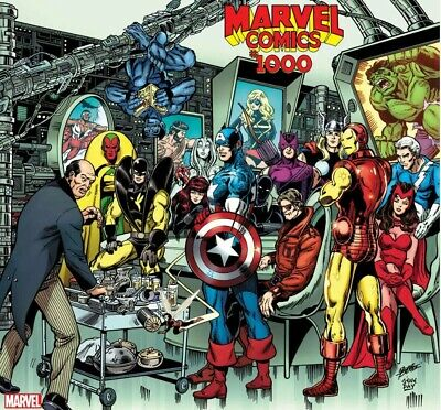 Marvel Comics #1000 (2019) George Perez  1:100 Variant NM Ships 8/28/19