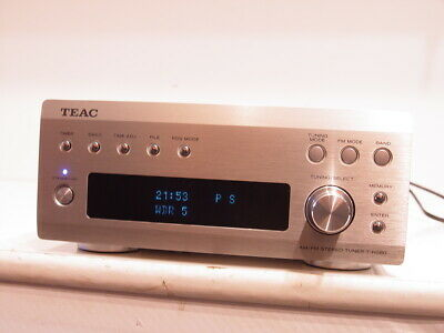 TEAC T-H380 Stereo RDS Tuner + Anleitung