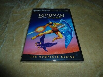 Birdman & The Galaxy Trio: The Complete Series (1967) [2 Disc DVD]