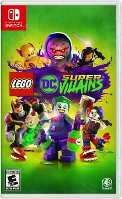 LEGO DC Super Villains (Nintendo Switch) Brand NEW SEALED