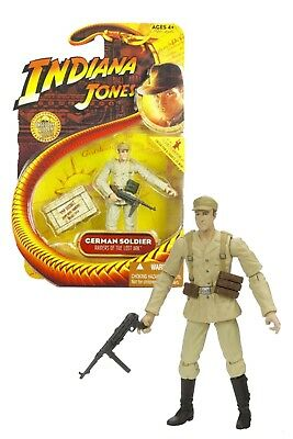 NEW 2008 German Soldier 3 3/4 Indiana Jones Action Figure by Hasbro