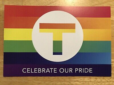 Metro Transit Minneapolis St. Paul Pride Postcard 6 X 4 Postcard