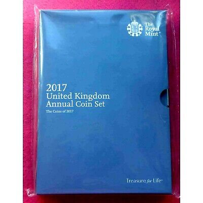 2017 Annual coin set Royal Mint 13 coins, sealed