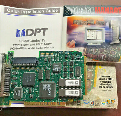 DPT SMART CACHE IV PM2044UW SCSI to PCI adapter ULTRAWIDE Free Shipping