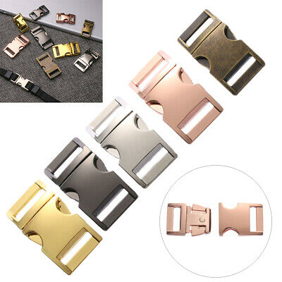 Hardware Part Pets Collar Backpack Bags Accessories Side Release Buckles
