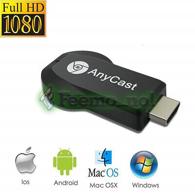 AnyCast M4 Plus WiFi-Empfänger Airplay Miracast-Display HDMI TV HD 1080P