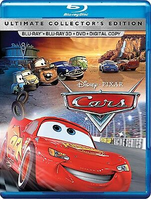 Disney*Pixar's Cars (Blu-ray/DVD, 3-Disc Ultimate Collector's Edition; 3D)