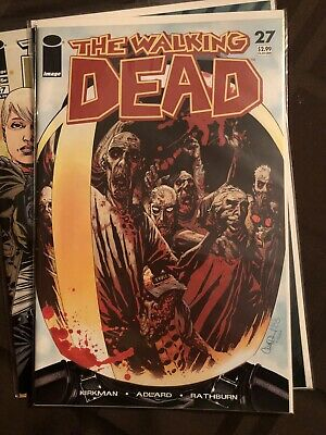 The Walking Dead # 27 1st Print 1st appearance of the Governor!! HOT KEY ISSUE