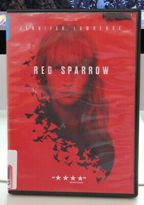 Red Sparrow (DVD) Jennifer Lawrence, Ex-Library