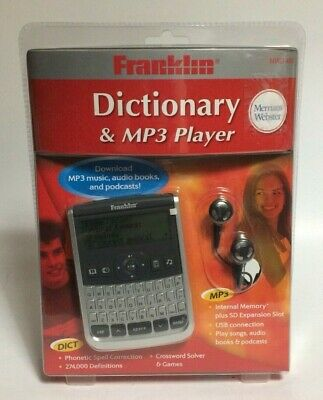FRANKLIN MERRIAM WEBSTER Dictionary Electronic Handheld Pocket MWD