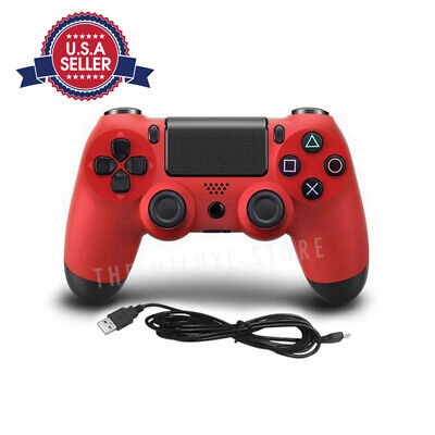 Wireless Controller For SONY PS4 Game Pad Dualshock Standard V2 - RED