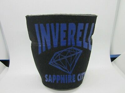 """Inverell New South Wales Sapphire City """"Survival Kit Novelty"""" Stubby Beer Holder"""