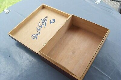 sehr alte orig. Dr. A. Oetker Holzkiste Holzbox Holzschatulle 32x24x11cm
