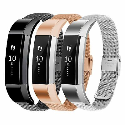 Milanese Magnetic Stainless Steel Band Strap Replacement For Fitbit Alta/Alta HR