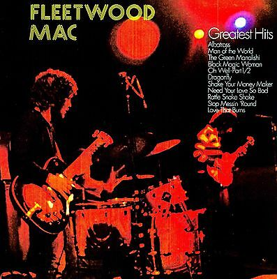 Fleetwood Mac - Greatest Hits vinyl LP NEW/SEALED IN STOCK Peter Green Albatross