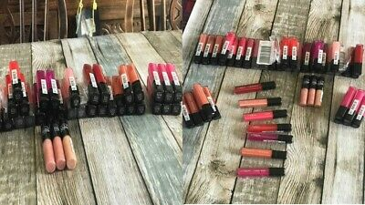 Make-Up Wholesale Job Lot Of 46 L'oreal And Maybelline Lip Gloss And Lip Cream