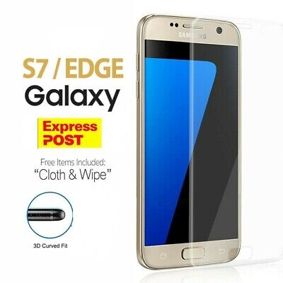 For Samsung Galaxy S7 / S7 Edge Full Coverage 3D Tempered Glass Screen Protector