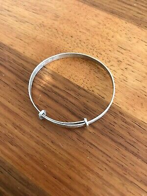 Engraved Baby Adjustable Bangle