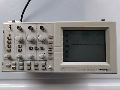 Tektronix TDS1012 Two Channel Digital Storage Oscilloscope - used, working