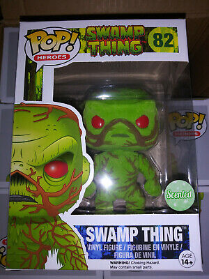 Funko POP! DC Swamp Thing flocked/scented (8,000 pieces)