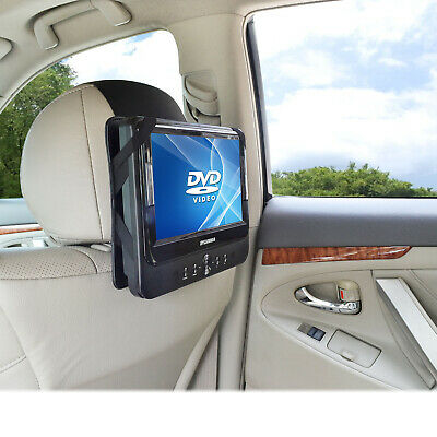 WANPOOL Universal Car Travel Headrest Mount for 9 Inch Portable DVD Player