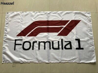 FORMULA ONE F1 FLAG 3x5FT 90x150CM TWO GROMMETS