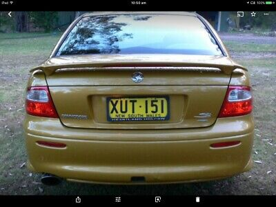 2002 Holden Commodore S VX II Auto Supercharged