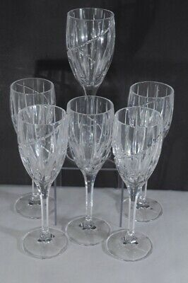 """Discontinued Mikasa Crystal Wine Glass Uptown 8-1/8"""" -11 Available"""