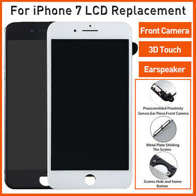 A1778 A1660 For iPhone 7 LCD Screen Touch Digitizer Assembly Earspeaker&Camera