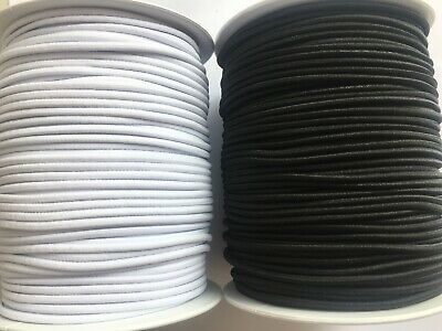 BUY 1 GET 1 FREE. 1ST CLASS POSTAGE  3 mm SUPER QUALITY Round Elastic Cord,