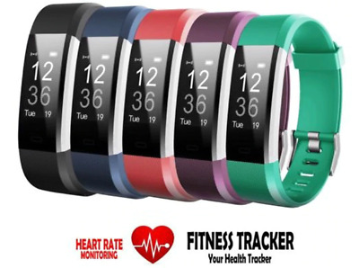 FITNESS SMART WATCH ACTIVITY  TRACKER ANDROID-IOS HEART RATE STEP COUNT Bracelet