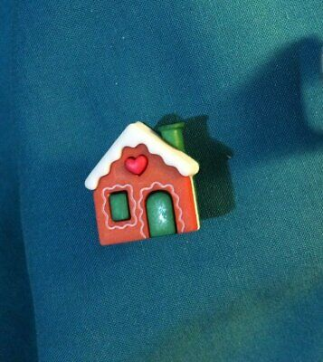 Cute Gingerbread House GINGER BREAD Christmas Home Holey Clog Shoe Charm