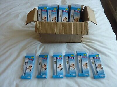 Job Lot 40 x Easy to use Baby Digital Thermometer With Beeper