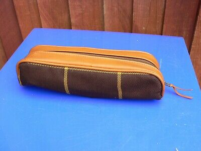Vintage Travel Folding Clothes Hangers with Case