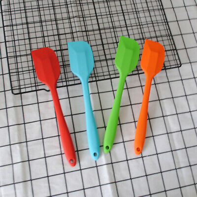 5Pcs Heat Resistant Multifunctional Seamless Silicone Spatula Kitchen Utensils