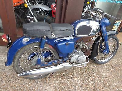 1966 Honda C200 90cc barn find import great winter restoration project now £699