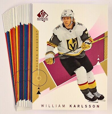 2018-19 Upper Deck SP Authentic Hockey RED Parallel Base Cards (Pick Your Own)
