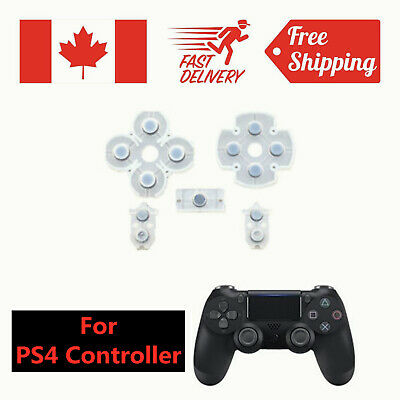 For PlayStation 4 DualShock 4 PS4 Controller Replacement Rubber Conductive Pad