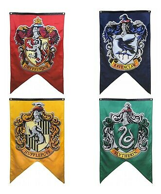 Harry Potter Hogwarts House Banners Gift Box Set