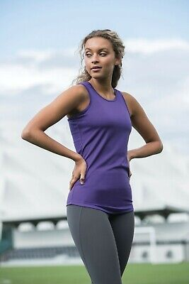 AWDis LADIES GIRLIE COOL VEST, BREATHABLE SPORTS, WORKOUTS, RUNNING, JC015