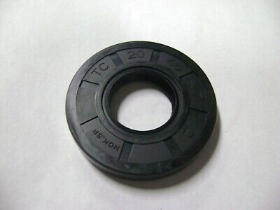 NEW TC 20X45X7 DOUBLE LIPS METRIC OIL / DUST SEAL 20mm X 45mm X 7mm