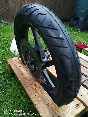 Honda CBR 125R 2012 front wheels with tyres