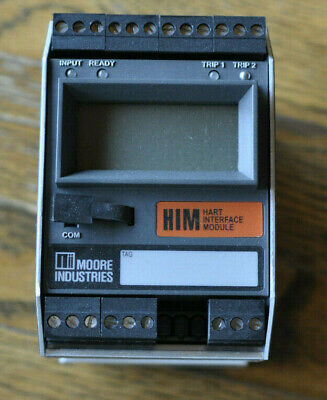 Moore Industries HIM/HART/3AO/24DC (DIN) Hart Interface Module WITH CABLE