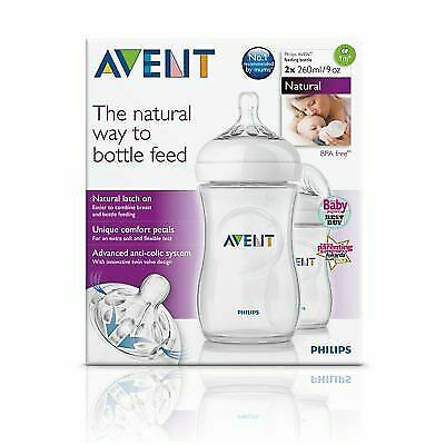 Philips AVENT Natural Feeding Bottles 2x260ml