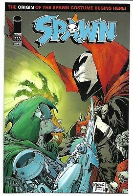 Spawn #233 Nm 2013 Todd Mcfarlane Szymon Kudranski Origin Of The Costume Image