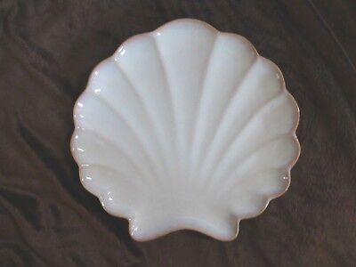Sea Sand Shell Dinner Plate or Appetizer Plate Sonoma Life Nautical Style Decor