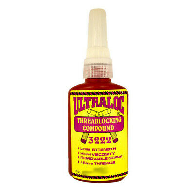 Ultraloc Threadlocking Compound Purple - Anaerobic Low Strength Removable Grade