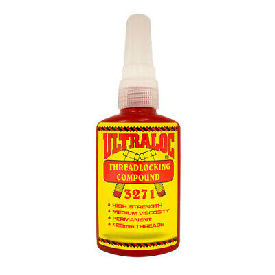 Ultraloc Threadlocking Compound Red - Anaerobic High Strength Permanent Grade -